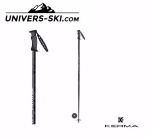 Bâtons de Skis KERMA Power Fiber Carbon 2019
