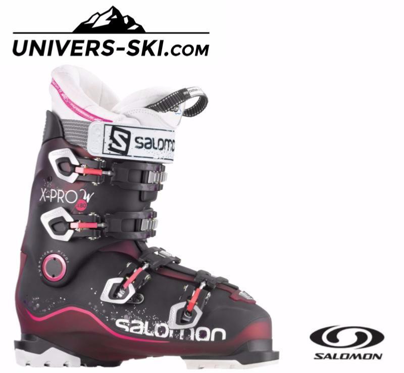 Chaussures de ski SALOMON Femme X PRO 80 W 2016