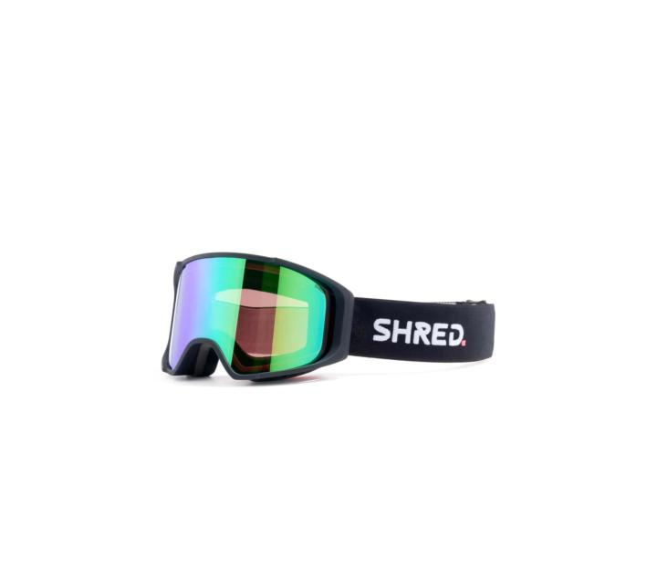 Masque de ski SHRED SIMPLIFY BLACK CBL/PLASMA + 1 écran offert S1