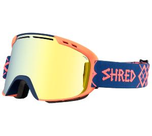 Masque de Ski SHRED AMAZIFY BIGSHOW NAVY-RUST Edition Limited 2019