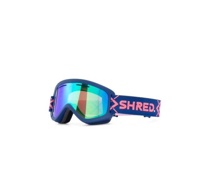 Masque de ski SHRED WONDERFY BIGSHOW NAVY/RUST CBL/  PLASMA ND 2021