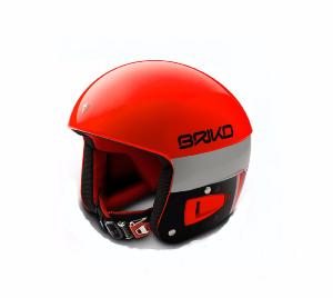 Casque de ski BRIKO Vulcano FIS 6.8 ORANGE FLUO ADULTE 2018