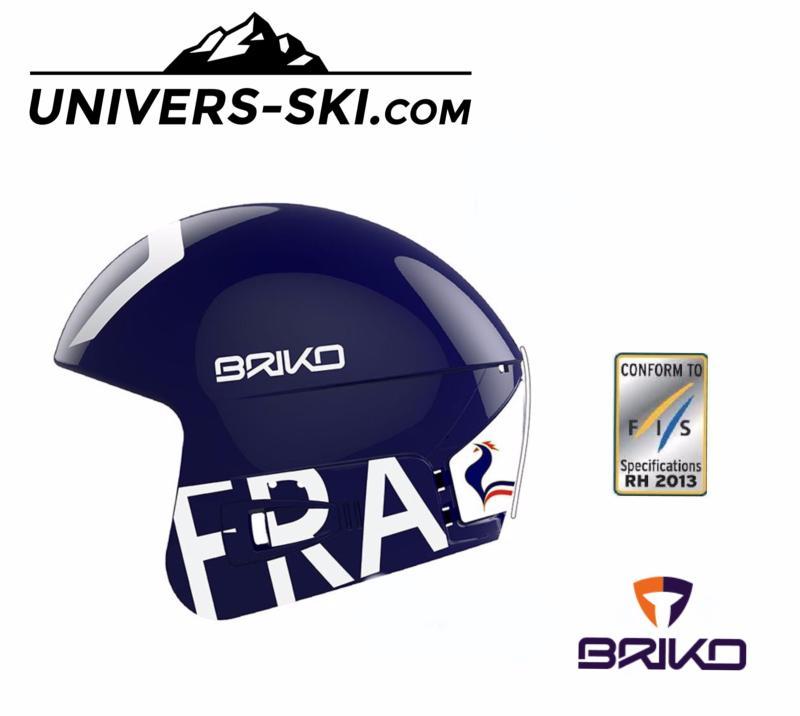 Ski France Casque Fis 2018 Briko Vulcano Bleu De 8 Junior 6 lFKcT1J