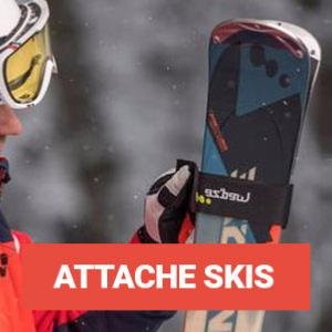 Attache Skis / Porte Skis