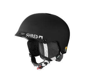 Casque de ski SHRED HALF-BRAIN CLARITY NOIR 2019