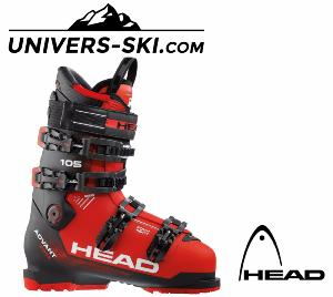 Chaussures de ski HEAD Advant Edge 105 Trs Red Black 2018