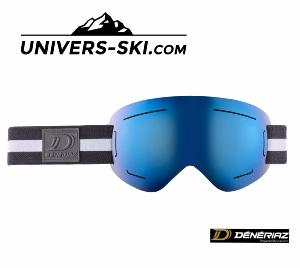 Masque de ski Deneriaz Pure Light Miroir Bleu 2018