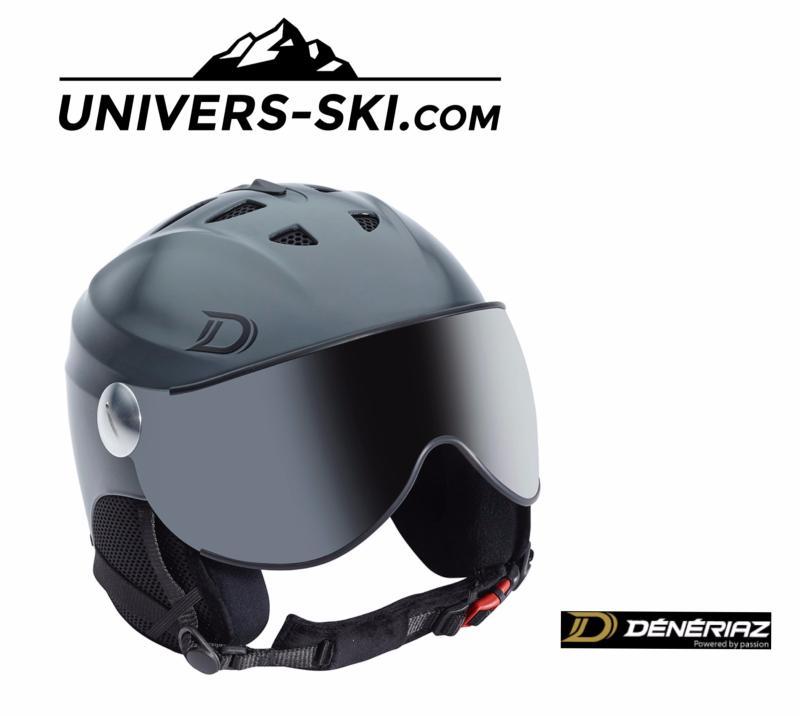 Casque De Ski Dénériaz Orizon Avec Visière Anthracite 2018
