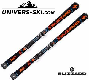 Ski BLIZZARD RC Ti 2018 + fixation TCX 12