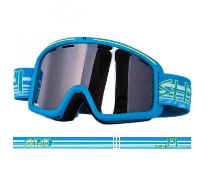Masque de ski Shred Monocle Crisp bleu