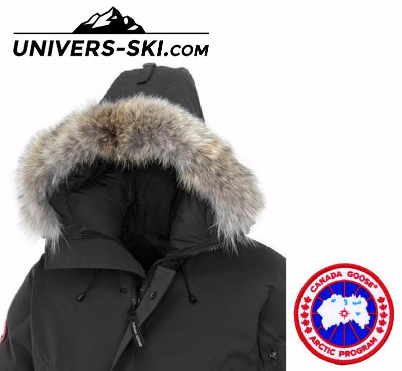 parka canada goose chilliwack bomber noir hoemme 2019. Black Bedroom Furniture Sets. Home Design Ideas