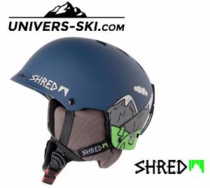Casque de ski SHRED HALF-BRAIN D-Lux Needmoresnow 2018