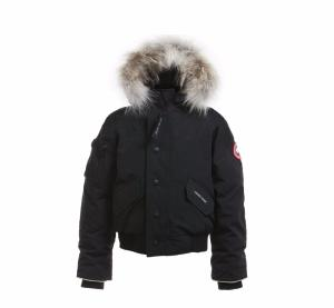 Parka Canada Goose Junior Youth Rundle Bomber Noir  2018