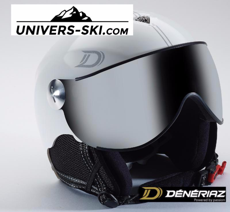 Casque De Ski Deneriaz Vision Air 2 Blanc 2017