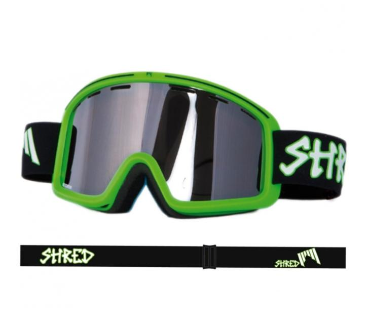 Masque de ski Shred Monocle Clarity green noir