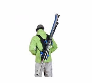 Porte skis Wantalis mains libres Adulte Noir
