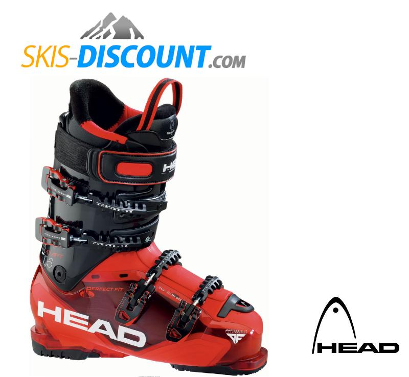 chaussures de ski head adapt edge 105 trs red 2016. Black Bedroom Furniture Sets. Home Design Ideas
