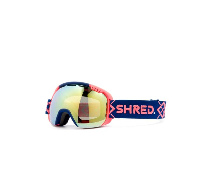 Masque de ski SHRED SMARTEFY BIGSHOW NAVY/RUST CBL  PLASMA 2021