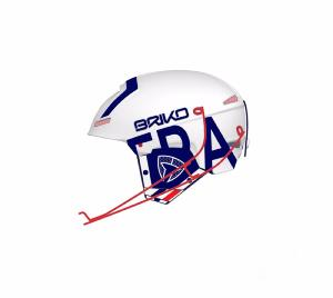 Casque de ski BRIKO France Slalom LTD Blanc Adulte 2018