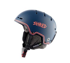 Casque de ski SHRED BUMPER NOSHOCK NAVY-RUST Edition Limited 2019