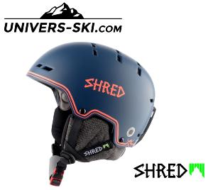 Casque de ski SHRED BUMPER NOSHOCK NAVY-RUST Edition Limited 2020