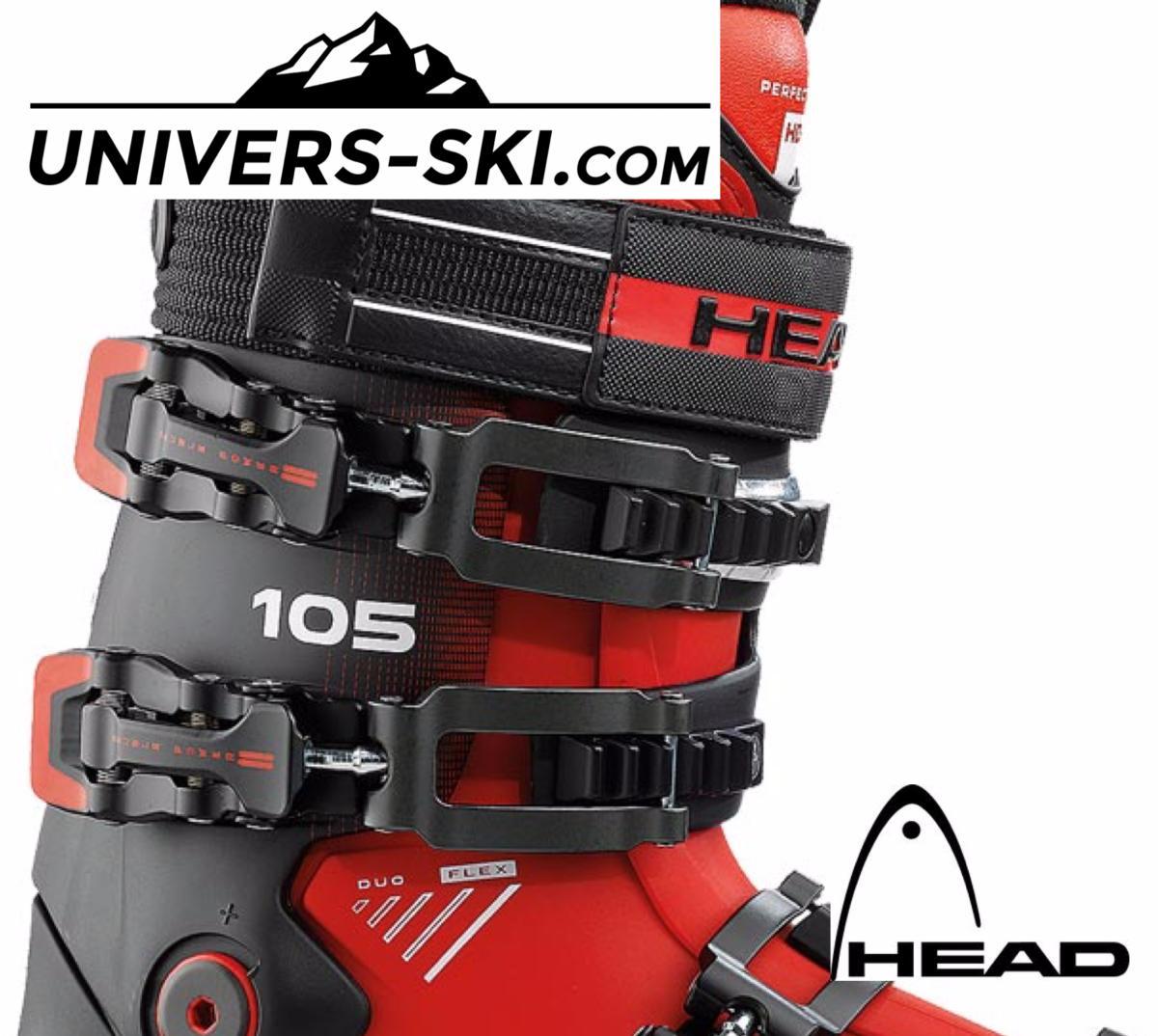 sur des coups de pieds de sortie en ligne commander en ligne Chaussures de ski HEAD Advant Edge 105 Trs Red Black 2018