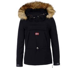 c9e6684a441 Veste NAPAPIJRI Skidoo Noir Eco Fur Femme 2019