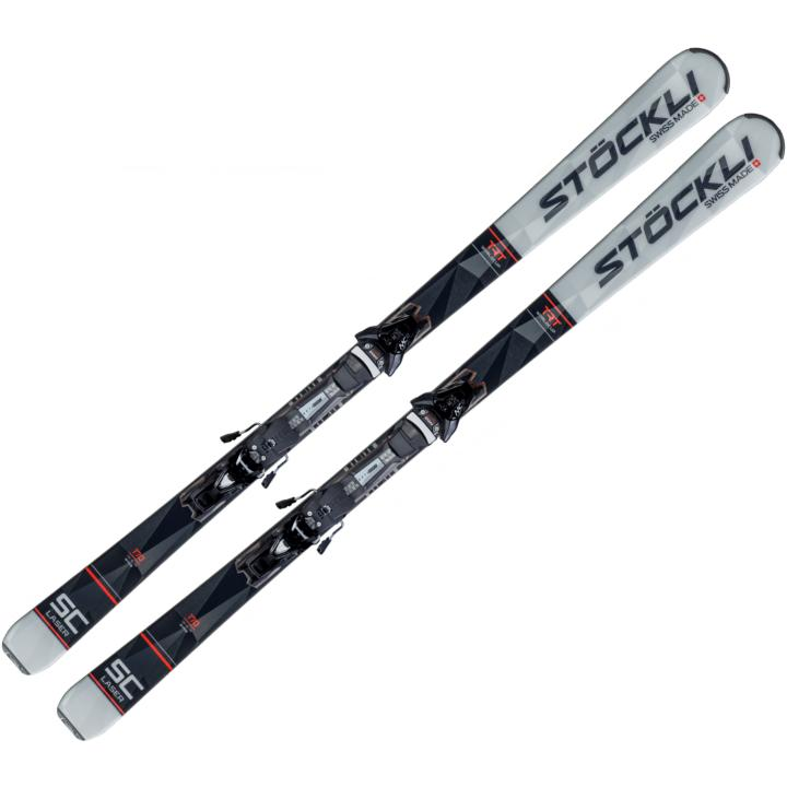 Ski Stockli Laser SC 2021 + MC 11 Pack