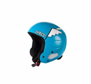 Casque de ski SHRED Brain Bucket Whyweshred bleu