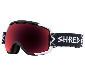 Masque de Ski SHRED STUPEFY BIGSHOW BLACK-WHITE CBL/BLAST 2019