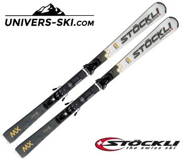 Ski Stockli Laser MX 2022 + fixation MC 11 Pack