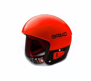 Casque de ski Junior BRIKO Vulcano FIS 6.8 ORANGE FLUO 2018