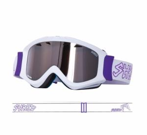 Masque de ski Shred Tastic Money Shot Blanc Violet