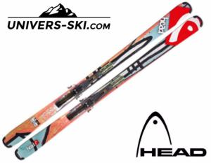 Ski HEAD Residue Big Easy 127cm Miniski 2018 + Fixations