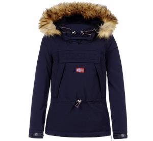 e78c82a1c41 Veste de ski NAPAPIJRI Skidoo Femme Bleu Marine ECO FUR 2019