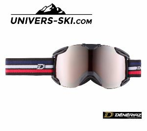 Masque de ski Deneriaz First Race Noir/bleu/ blanc/rouge 2018