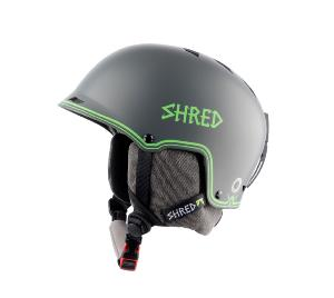 Casque de ski SHRED HALF-BRAIN D-Lux Grey-Green 2019