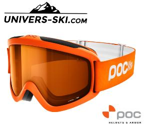 Masque Ski Poc Pocito Iris Orange Fluo 2019