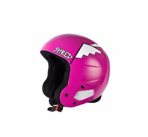 Casque de ski SHRED Brain Bucket Whyweshred rose