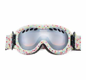 Masque de ski Cairn enfant DROP POINTS BLANCS SPX 3000 2017